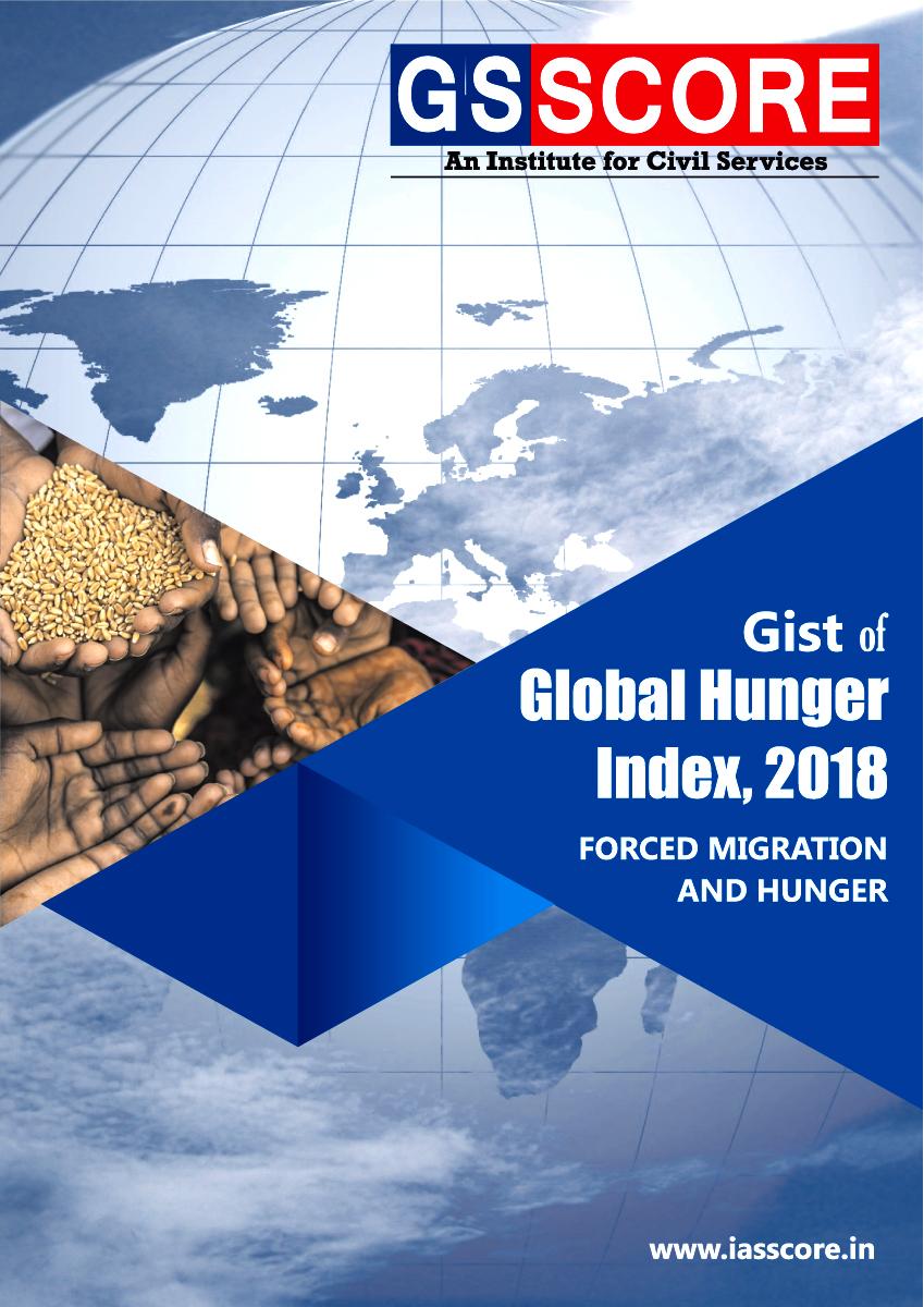 Gist of  Global Hunger Index, 2018