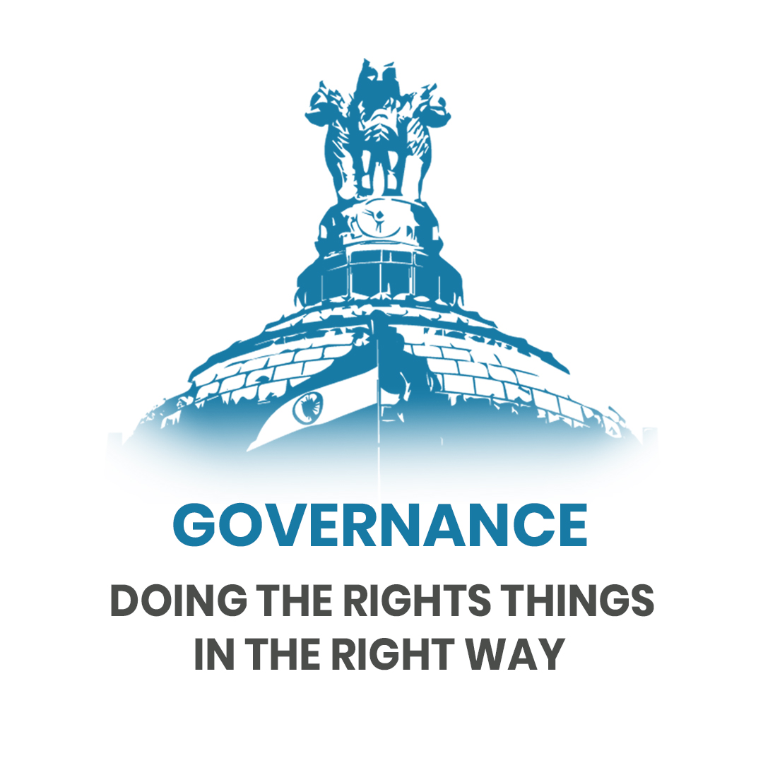Governance: Doing the rights things in the right way