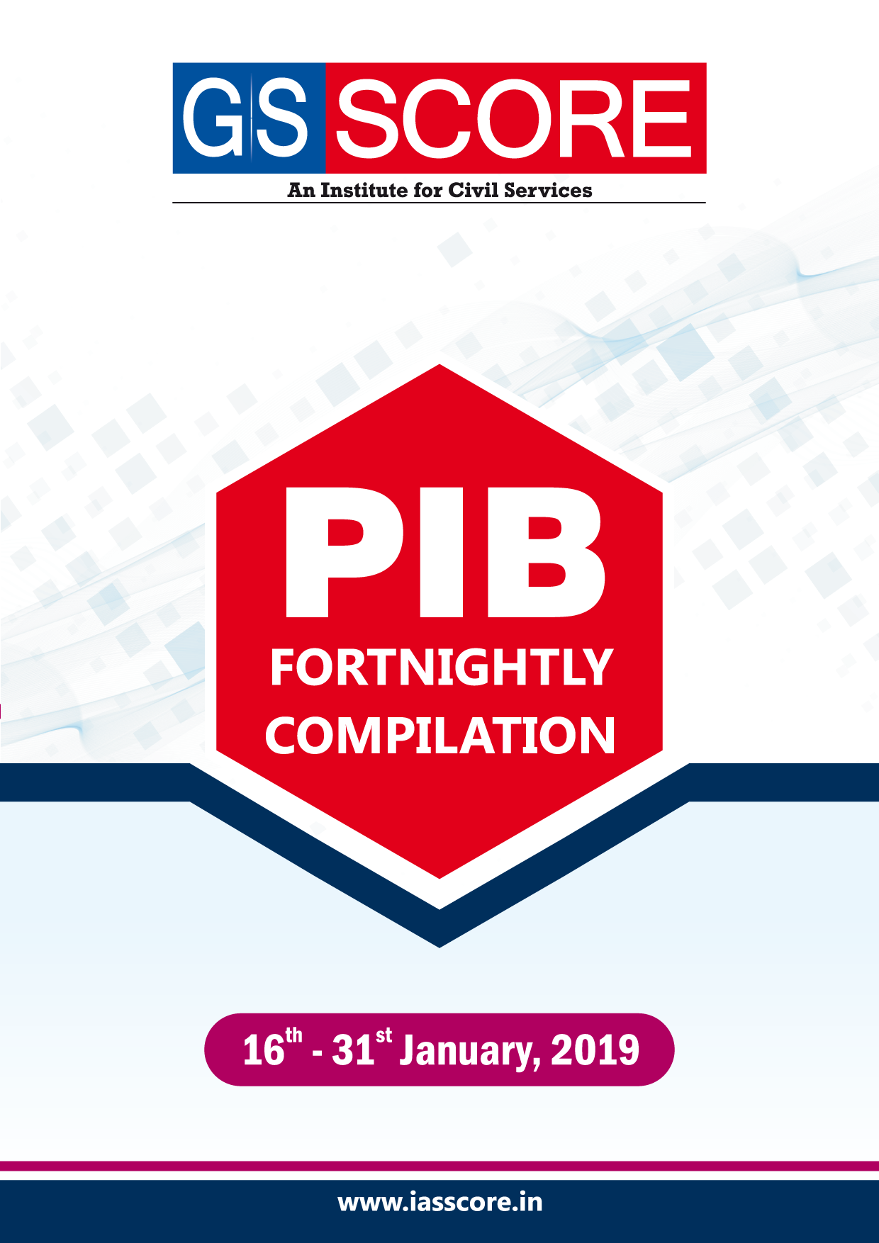 PIB Compilation - 16th January to 31st January