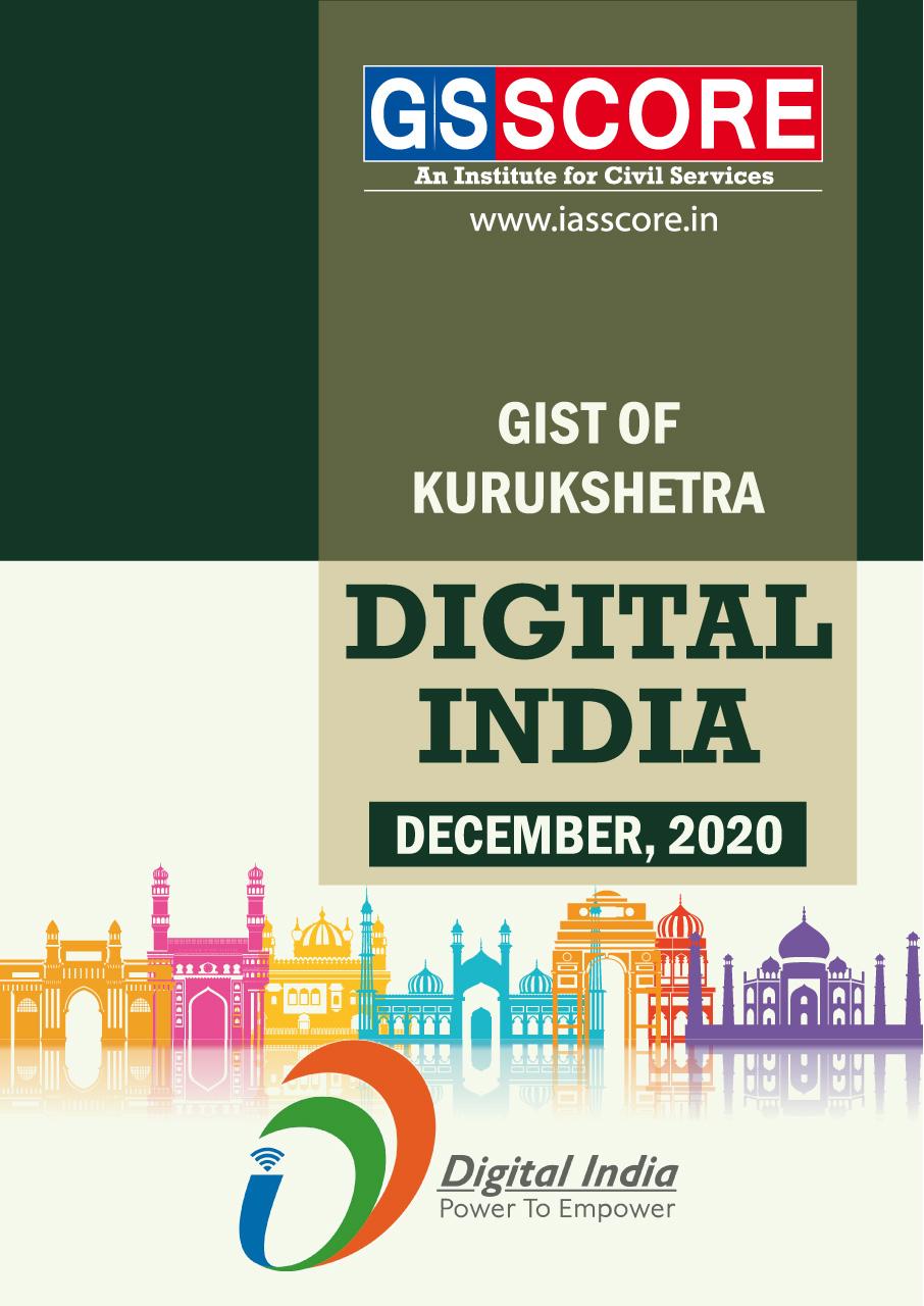Gist of Kurukshetra :-December 2020