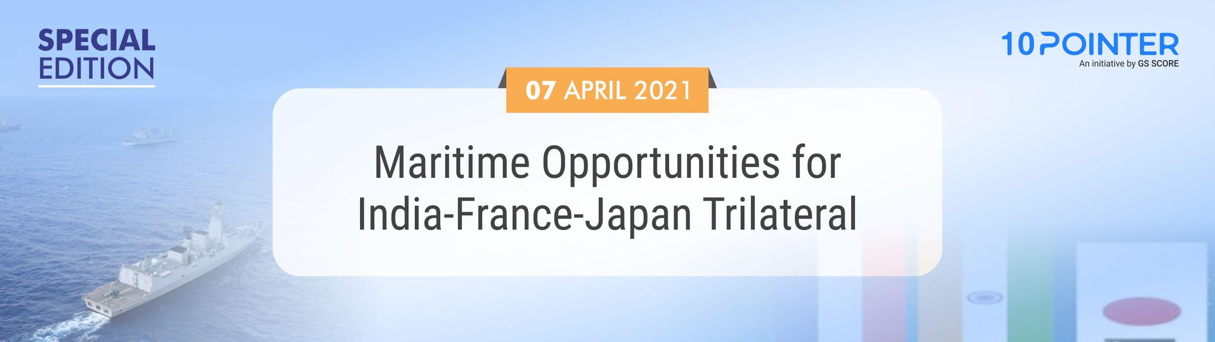 Maritime Opportunities for India-France-Japan Trilateral