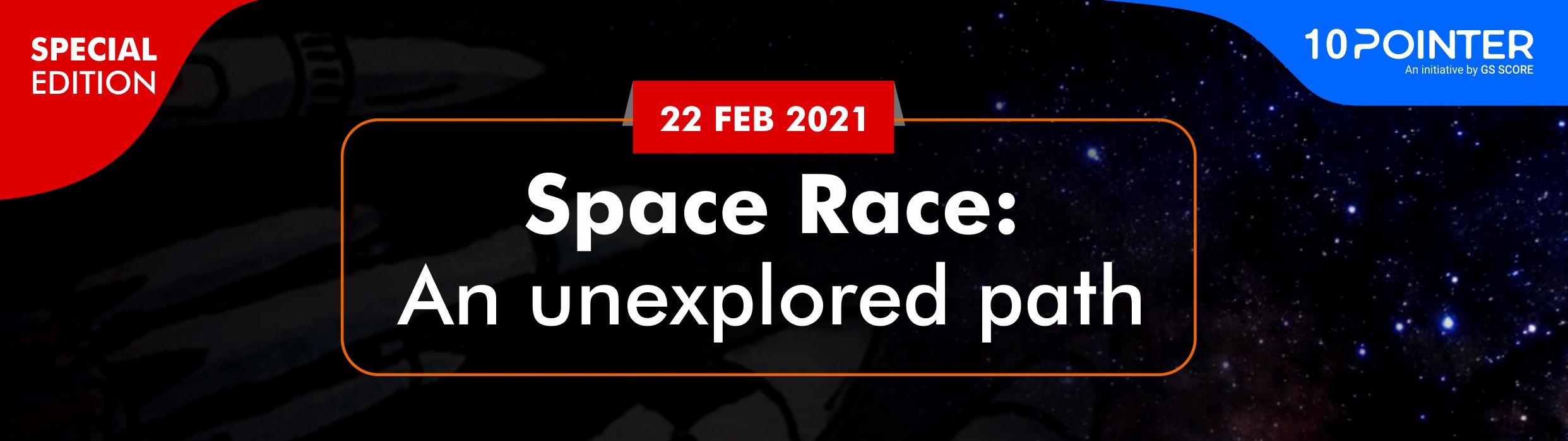 Space Race: an unexplored path